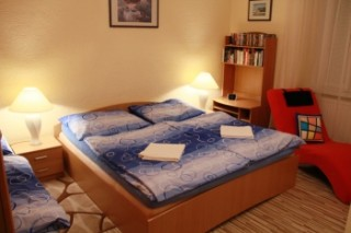 Apartment Colour Blue-Old Town- One bdr. - Bedroom