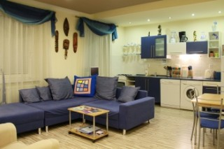 Apartment Colour Blue-Old Town- One bdr. - Sitting room / Kitchen